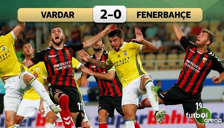 Fenerbahçe'ye Üsküp'te soğuk duş!