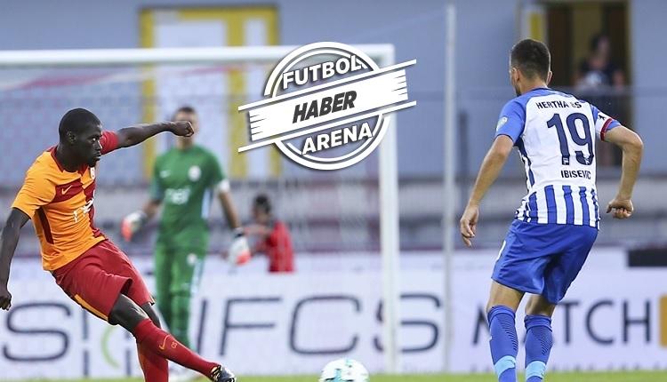 Galatasaray 1-2 Hertha Berlin maç özeti ve golleri