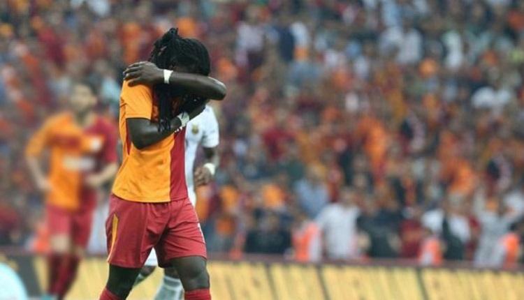 Galatasaray - Hertha Berlin maçında ne yaptın Gomis?