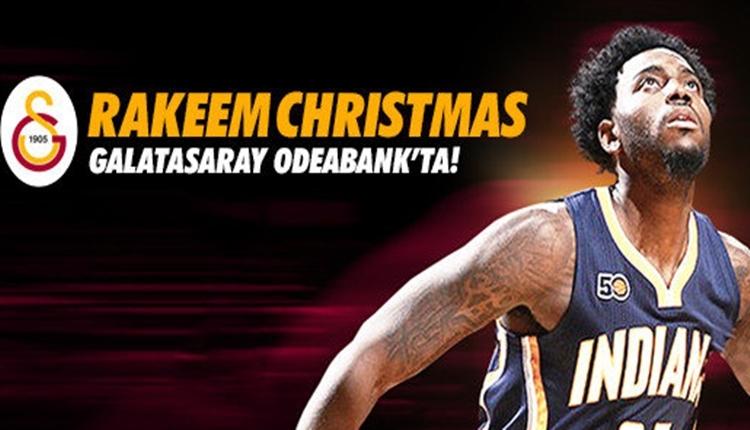 Galatasaray Odeabank, Rakeem Christmas'ı transfer etti