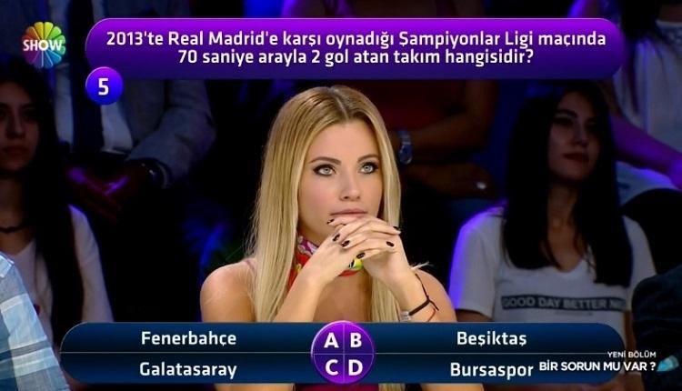 Galatasaray - Real Madrid maçı için yarışmada ilginç yorum