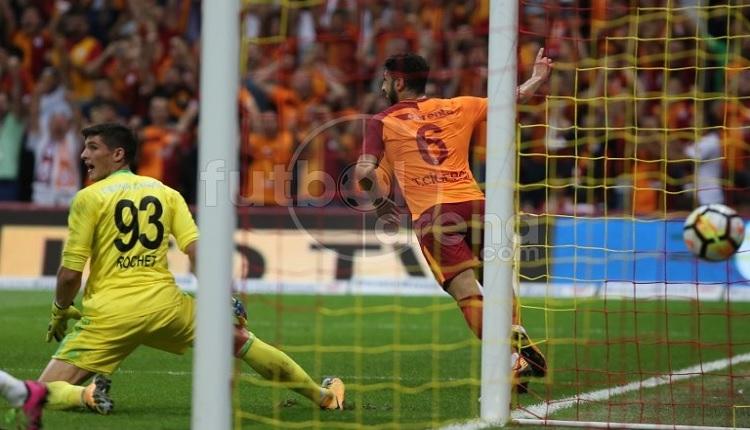 Galatasaray - Sivasspor maçında Tolga'nın golünde şaşırtan ofsayt itirazı!