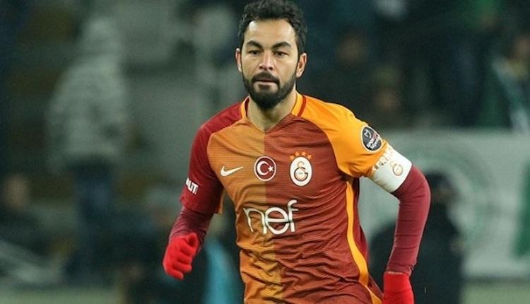 Galatasaray taraftarından Selçuk İnan'a destek