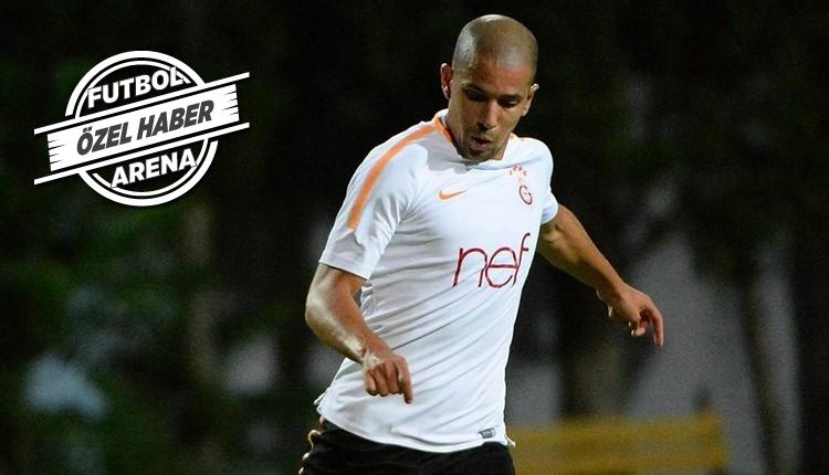 Galatasaray'da Feghouli'ye izin yok!