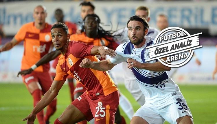 Galatasaray'da Fernando, Atiba'ya rakip oldu