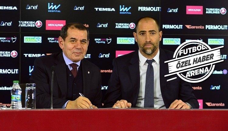 Galatasaray'da Igor Tudor için net karar
