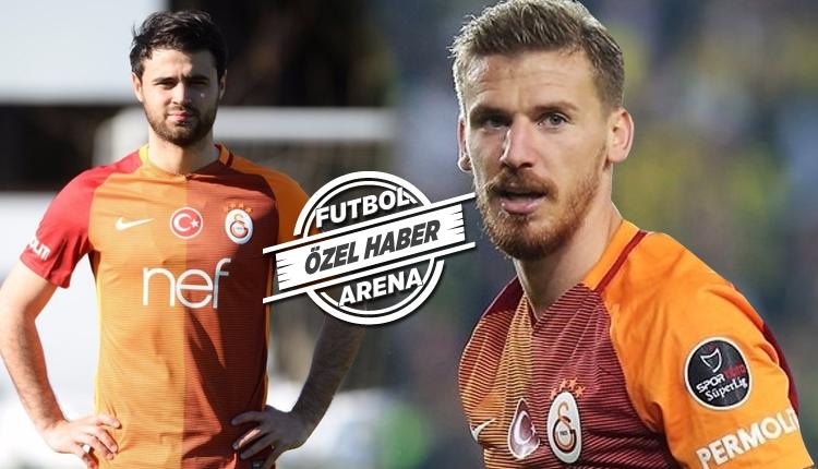 Galatasaray'da Kayserispor maçında Maicon'un partneri belli oluyor. Serdar Aziz mi? Ahmet Çalık mı?