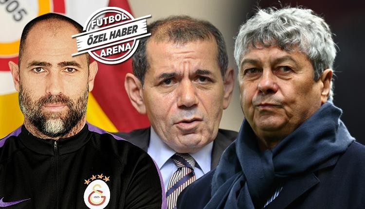 Galatasaray'da Lucescu için Dursun Özbek devrede! Tudor ayrılıyor mu?