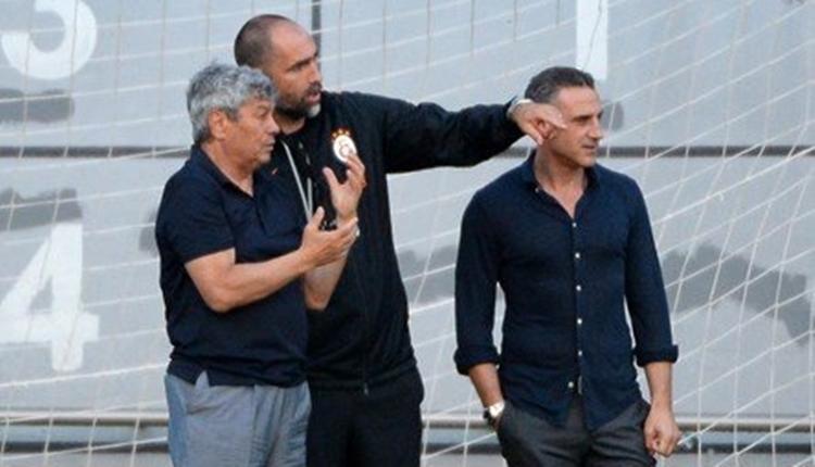 Galatasaray'da Mircea Lucescu, Igor Tudor ile görüştü