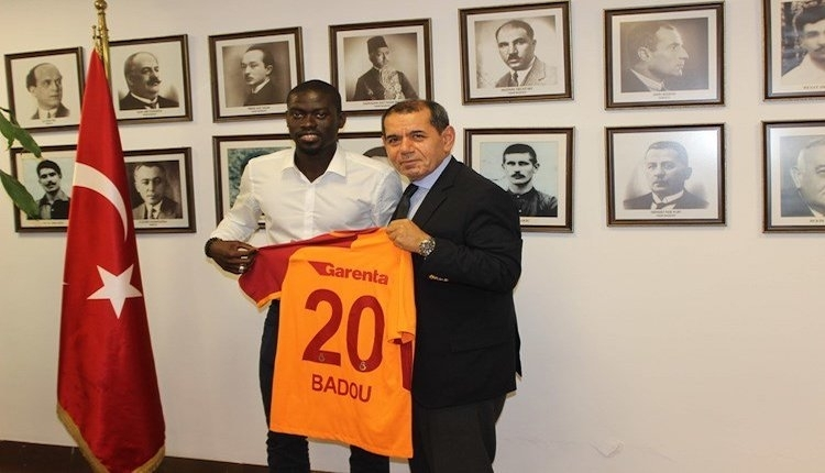 Galatasaray'da yeni transfer Badou Ndiaye kampa katıldı