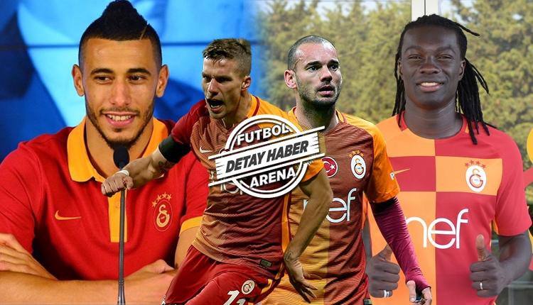 Galatasaray'da transfer bilançosu