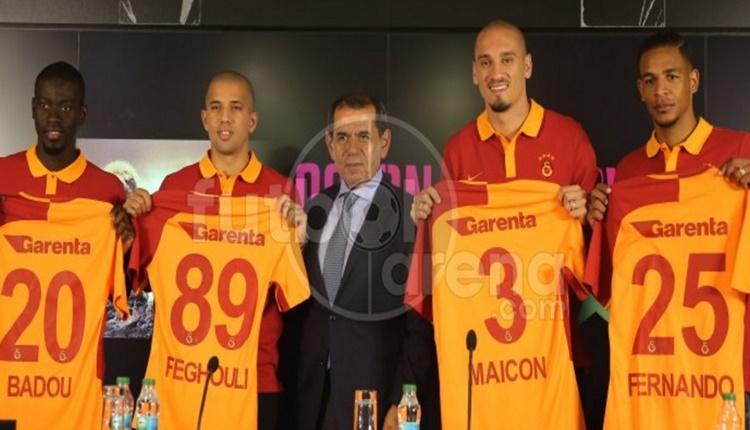 Galatasaray'da transferlere toplu imza
