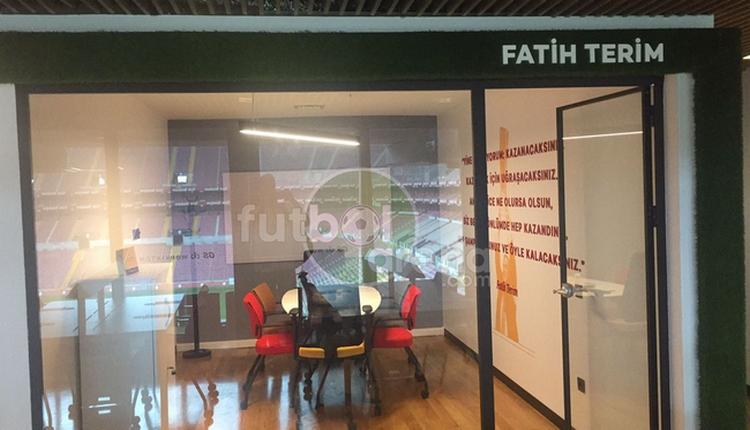 Galatasaray'dan Fatih Terim'e TT Stadı'nda ofis