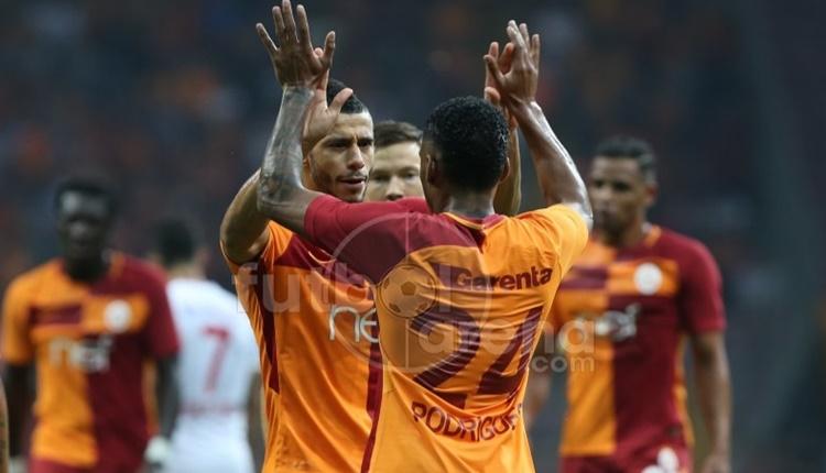 Galatasaray'ın ilk 11'inde 8 farklı oyuncu!