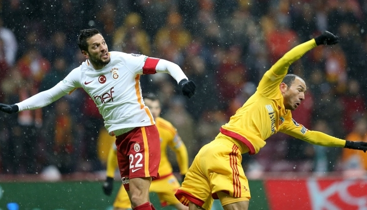 Galatasaray'ın Kayserispor kabusu