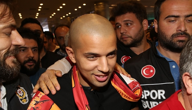Galatasaray'ın yeni transferi Feghouli KAP'a bildirildi! İşte maliyeti