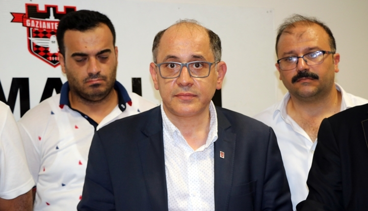 Gaziantepspor Başkanı Mutlu Özpineci istifa etti