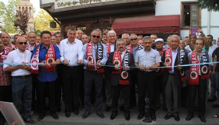 Gençlerbirliği'nde İlhan Cavcav sokağı açıldı