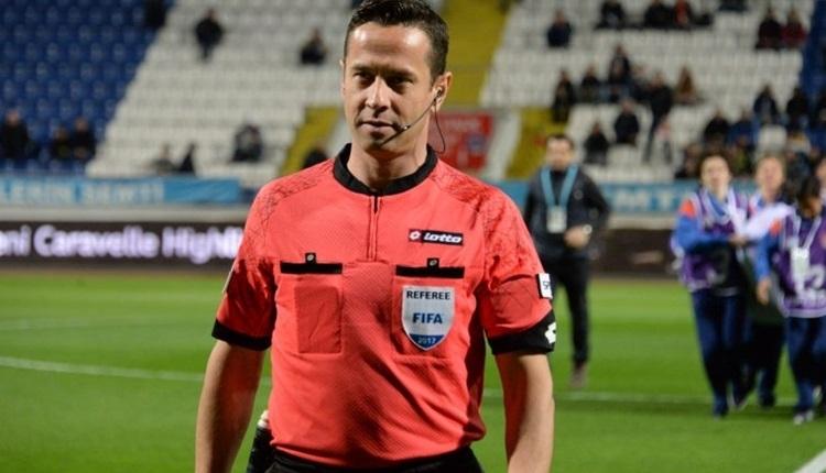 Halis Özkahya'ya UEFA Avrupa Ligi'nde görev