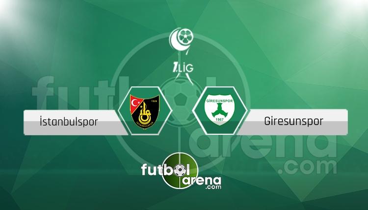 İstanbulspor Giresunspor canlı skor, maç sonucu - Maç hangi kanalda?