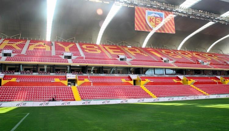 Kayseri Kadir Has Stadı yeni sezona hazır