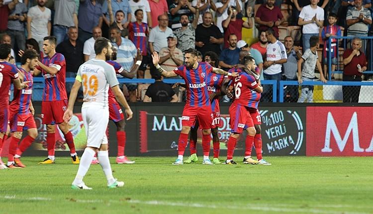 Karabükspor 3-1 Medipol Başakşehir maçı özeti ve golleri İZLE