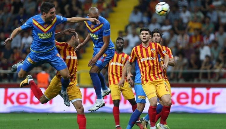 Kayserispor 1-0 Göztepe maçı özeti ve golü İZLE