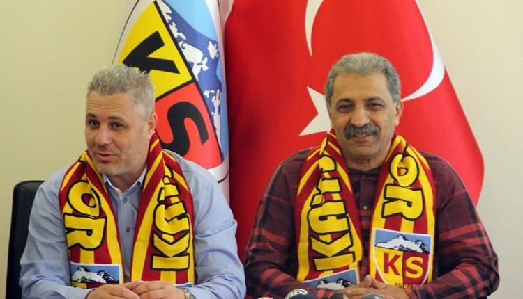Kayserispor'da takımdan gönderilecekler belirleniyor...