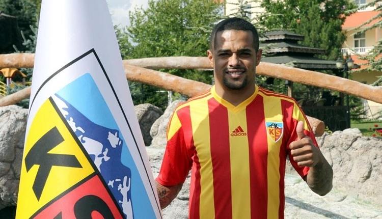 Kayserispor'da Welliton sözleşmesini feshetti!