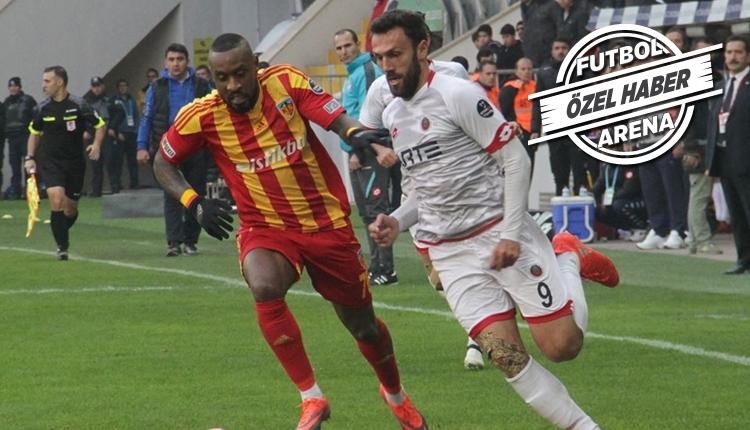 Kayserispor'dan Kana Kıyık için Avrupa kulüplerine transfer cevabı