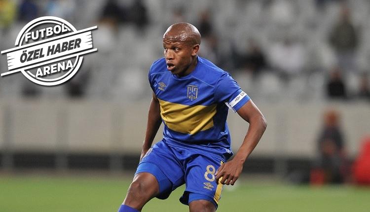 Konyaspor 10 numara Afrikalı Lebogang Manyama'yı transfer etti