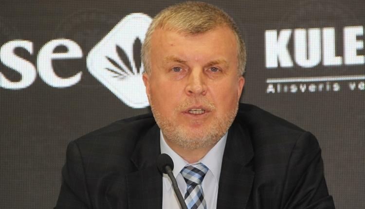 Konyaspor Başkanı Ahmet Şan: 'Cezaya itiraz etmeyiz'