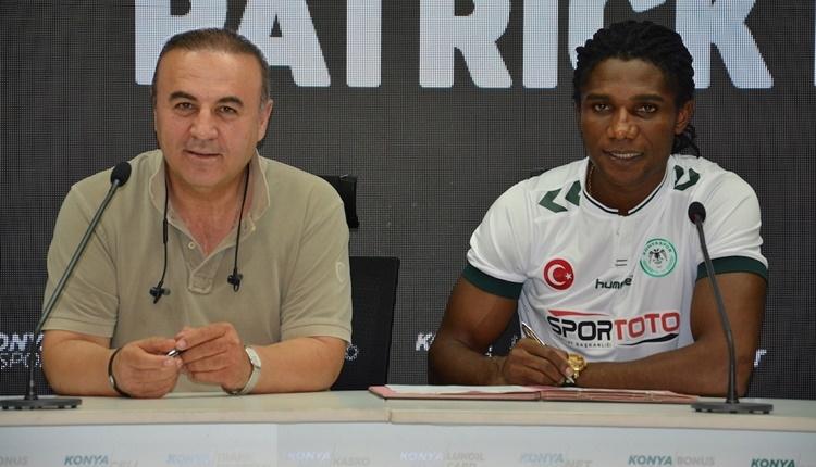 Konyaspor, Patrick Friday Eze'yi transfer etti