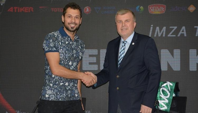Konyaspor Serkan Kırıntılı ile sözleşme yeniledi