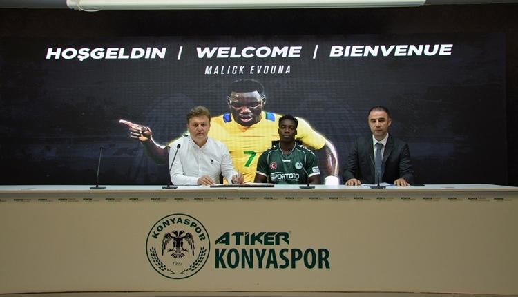Konyaspor transferde Malick Evoun'u kiraladı