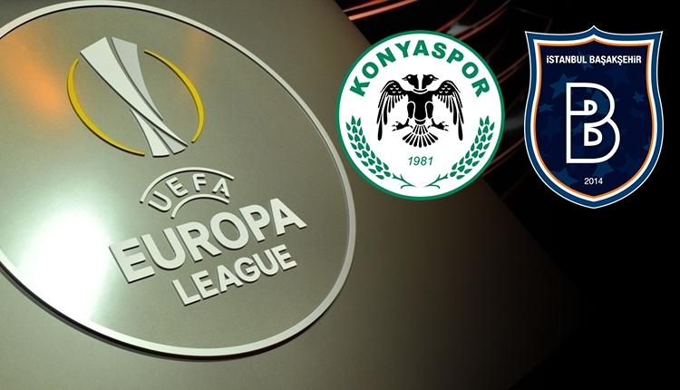 Konyaspor ve Başakşehir'in UEFA'daki rakipleri