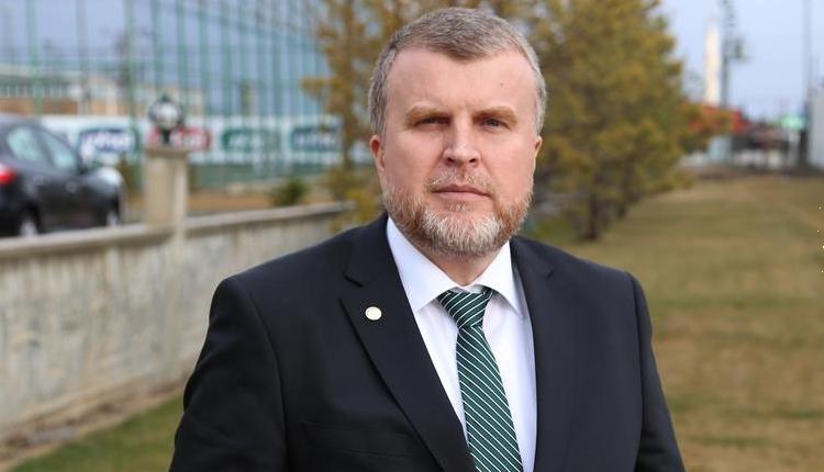 Konyaspor'da Ahmet Şan istifa etti