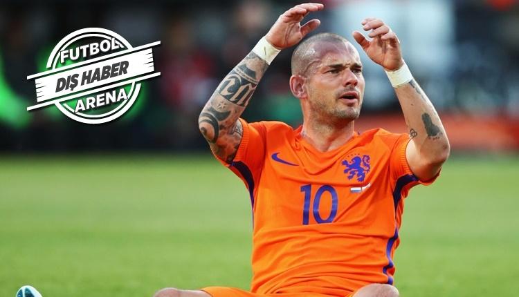 Ligue 1 ekibi Wesley Sneijder'i istemedi!