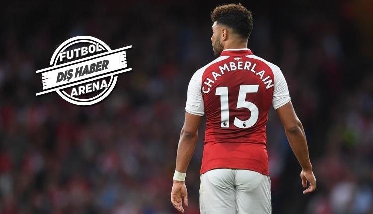 Liverpool, Arsenal'den Alex Oxlade Chamberlain'i transfer etti