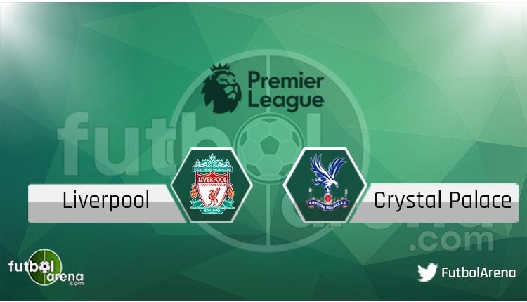 Liverpool - Crystal Palace maçı saat kaçta, hangi kanalda? Şifresiz canlı izle