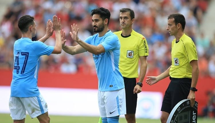 Manchester City'de İlkay Gündoğan sevinci