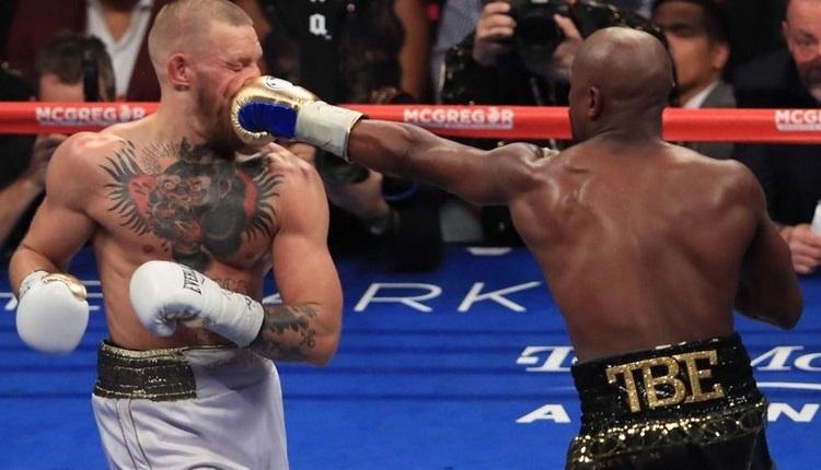 Mayweather, McGregor'u yıktı! Maçı izle