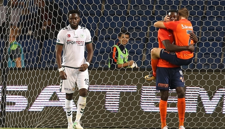 Medipol Başakşehir 2-1 Atiker Konyaspor maç özeti ve golleri (İZLE)