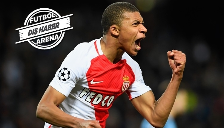 Monaco'nun yıldızı Kylian Mbappe için resmi transfer açıklaması