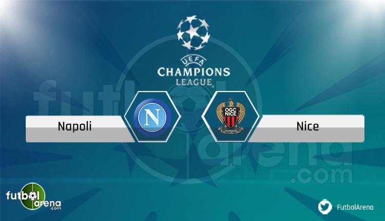 Napoli - Nice maçı saat kaçta, hangi kanalda? Şifresiz izle