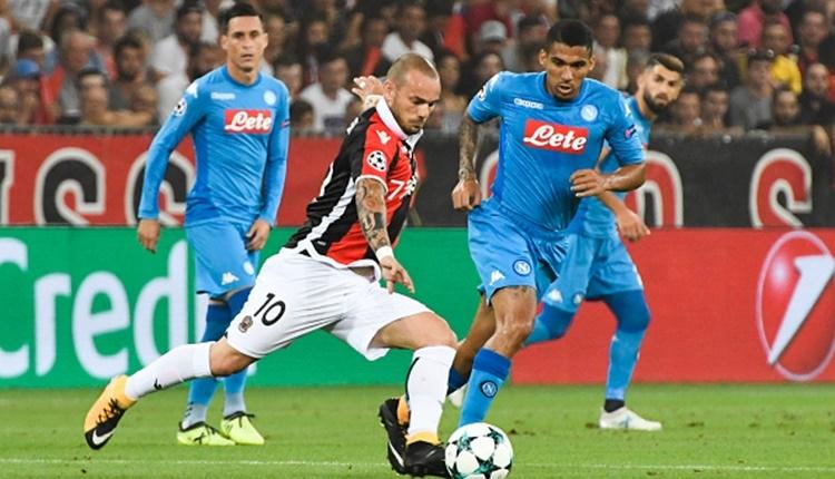 Nice 0-2 Napoli maçı özeti ve golleri İZLE