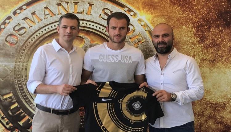 Osmanlıspor Başakşehir'den Cikalleshi'yi transfer etti