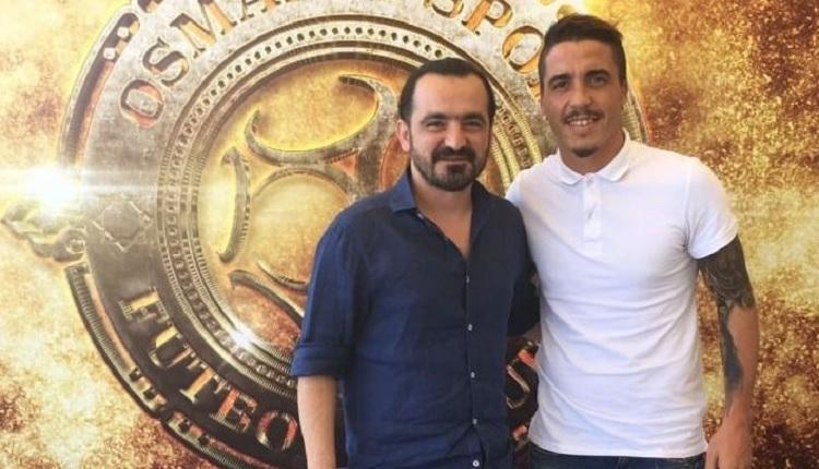 Osmanlıspor eski Galatasaraylı Josue'yi transfer etti