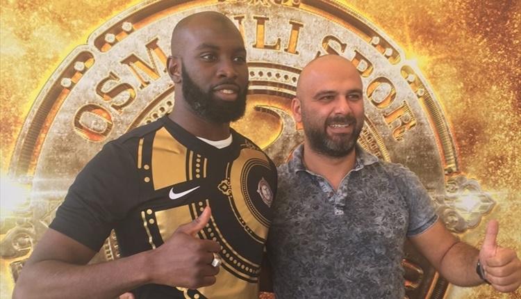 Osmanlıspor, Souleymane Doukara'yı transfer etti