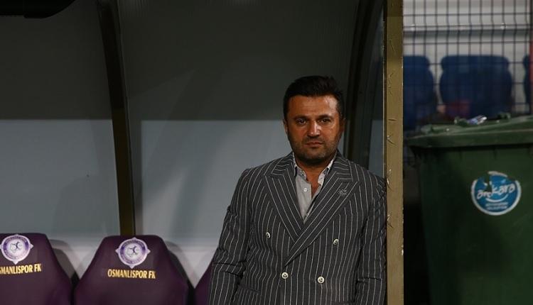 Osmanlıspor'da Bülent Uygun, Galatasaray yenilgisi sonrası neler söyledi?